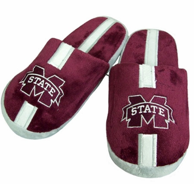 Mississippi State Team Stripe Slide Slippers