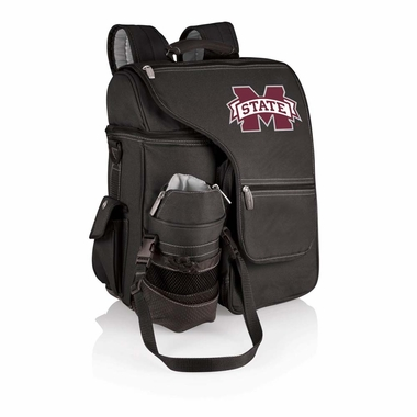 Mississippi State Turismo Embroidered Backpack (Black)