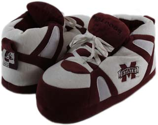 Mississippi State UNISEX High-Top Slippers - X-Large