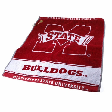 Mississippi State Woven Golf Towel