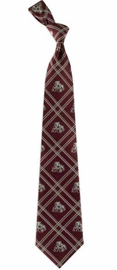 Mississippi State Woven Poly 2 Necktie