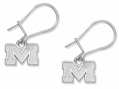 Mississippi Sterling Silver Post or Dangle Earrings