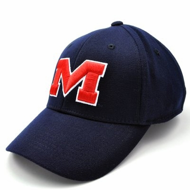 Mississippi Team Color Premium FlexFit Hat - Small / Medium