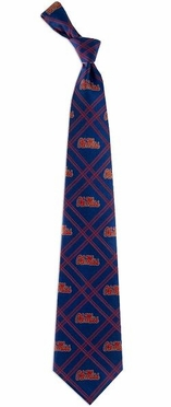 Mississippi Woven Poly 2 Necktie