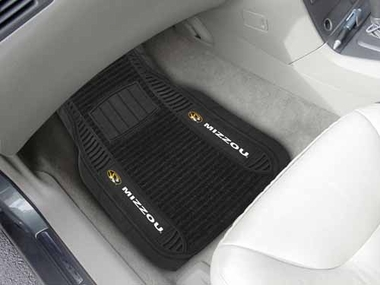 Missouri 2 Piece Heavy Duty DELUXE Vinyl Car Mats