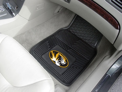 Missouri 2 Piece Heavy Duty Vinyl Car Mats