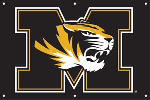Missouri 2 x 3 Horizontal Applique Fan Banner