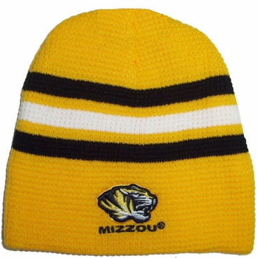 Missouri 2010 Slide Cuffless Knit Hat Beanie