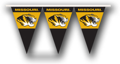 Missouri 25 Foot String of Party Pennants (P)