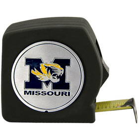 Missouri Tigers Black Tape Measure