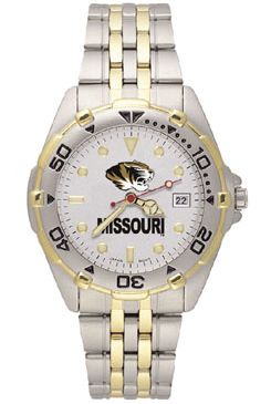 Missouri All Star Mens (Steel Band) Watch