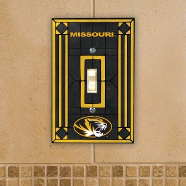 Missouri Art Glass Lightswitch Cover