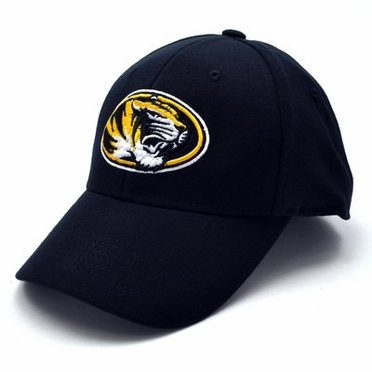 Missouri Black Premium FlexFit Baseball Hat