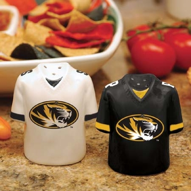 Missouri Ceramic Jersey Salt and Pepper Shakers