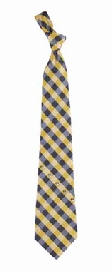 Missouri Check Poly Necktie