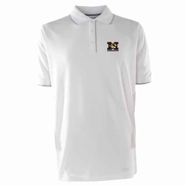 Missouri Mens Elite Polo Shirt (Color: White)