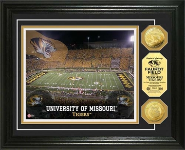 Missouri Tigers University of Missouri Stadium Gold Coin Photo Mint