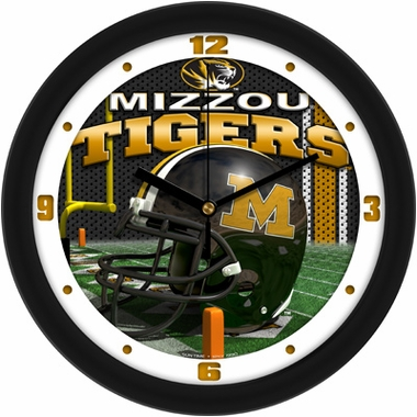Missouri Helmet Wall Clock