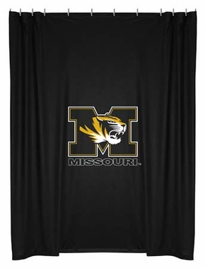 Missouri Jersey Material Shower Curtain
