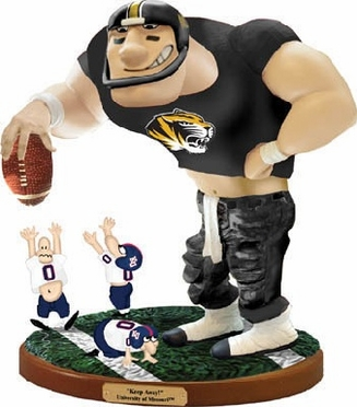 Missouri Keepaway Rivalry Statue