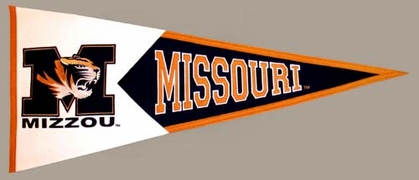 Missouri Large Wool Pennant