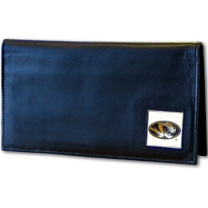 Missouri Leather Checkbook Cover (F)