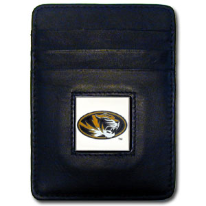 Missouri Leather Money Clip (F)