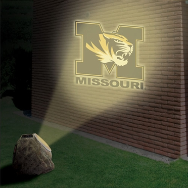 Missouri Logo Projection Rock