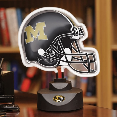 Missouri Neon Display Helmet