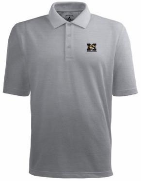 Missouri Mens Pique Xtra Lite Polo Shirt (Color: Gray)