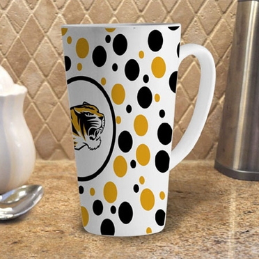 Missouri Polkadot 16 oz. Ceramic Latte Mug