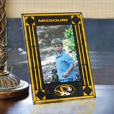 Missouri Portrait Art Glass Picture Frame