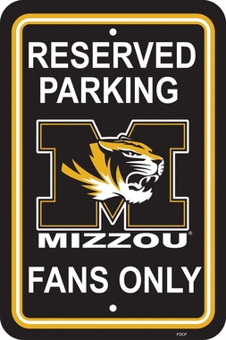 Missouri Plastic Parking Sign (P)
