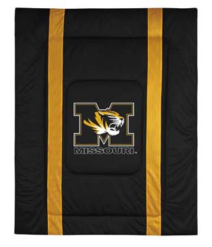 Missouri SIDELINES Jersey Material Comforter