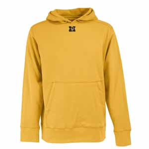 Missouri Mens Signature Hooded Sweatshirt (Color: Gold) - Medium