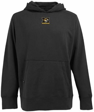Missouri Mens Signature Hooded Sweatshirt (Team Color: Black)