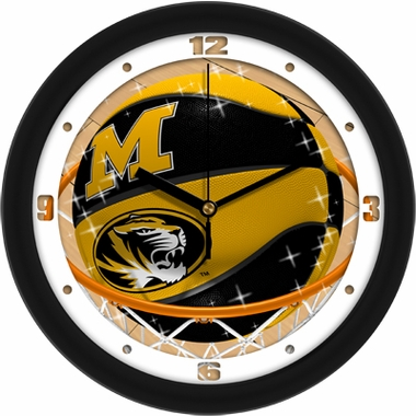 Missouri Slam Dunk Wall Clock