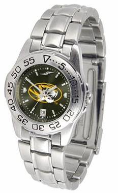 Missouri Sport Anonized Women's Steel Band Watch