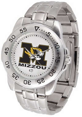 Missouri Sport Men's Steel Band Watch