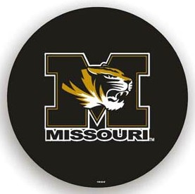 Missouri Tigers Black Tire Cover - Standard Size