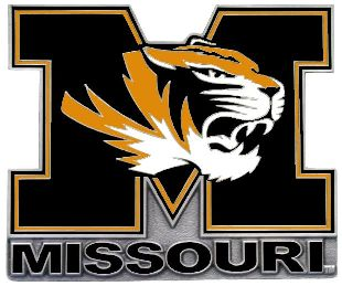 Missouri Tigers M Hitch Cover Class 3