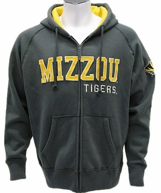 Missouri Vintage Victory Full Zip Hooded Sweatshirt