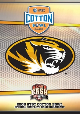 Missouri vs. Arkansas - 2008 Cotton Bowl DVD