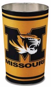 "Missouri Tigers 15"" Waste Basket"