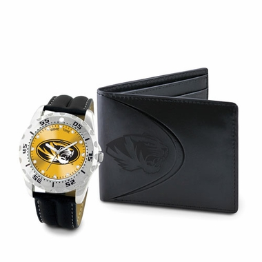 Missouri Watch and Wallet Gift Set