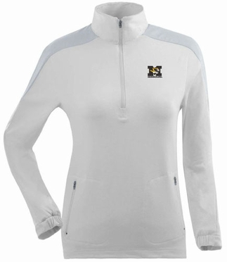 Missouri Womens Succeed 1/4 Zip Performance Pullover (Color: White)