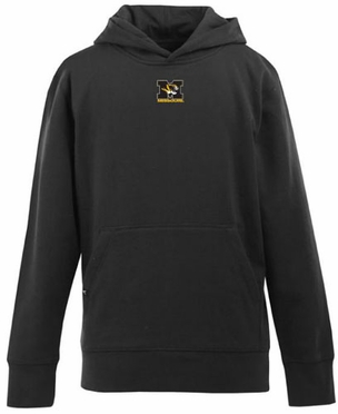 Missouri YOUTH Boys Signature Hooded Sweatshirt (Team Color: Black)