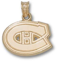 Montreal Canadiens 10K Gold Pendant