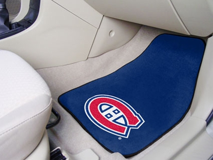 Montreal Canadiens 2 Piece Car Mats