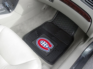 Montreal Canadiens 2 Piece Heavy Duty Vinyl Car Mats